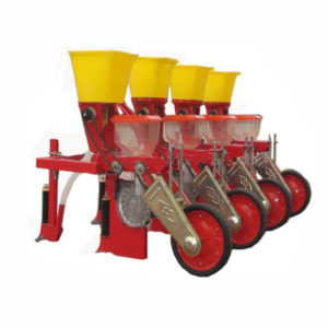 Seeder With Fertilizer Spreader