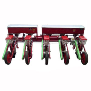 Soybea Planter Mounted On Tractor