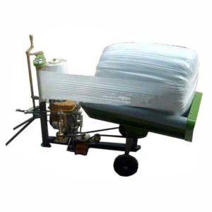 Round Bale Wrapper Machine