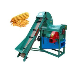Electric Corn Harvest Thresher