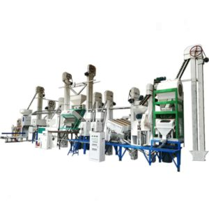 Anon 40-50T/D Complete Rice Mill Machine