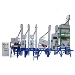 Anon 30-40T/D Rice Milling Machine