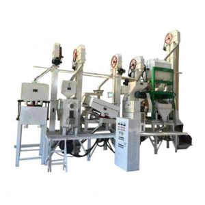 Anon 20-30T/D Rice Milling Machine