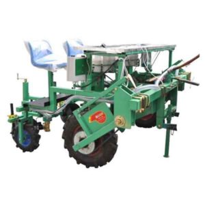 Two Rows Semi-automatic Transplanting Machine