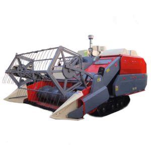 ANON Crawler Self-propelled Full-feed Rice-and-wheat Combine Harvester