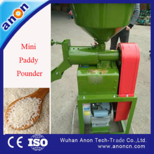 ANON auto rice mill with diesel engine