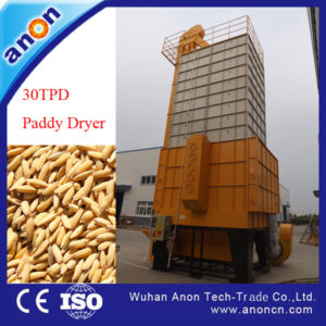 ANON grain dryer paddy dryer for rice mill