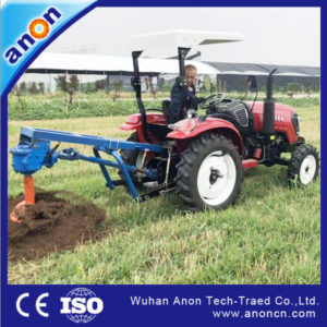 ANON tractor mounted hydraulic digger hole machine for sale