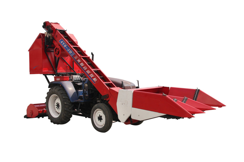 Small – scale agricultural stem – ear dual – purpose corn harvester