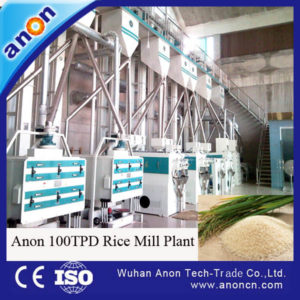 ANON Automatic Machine Rice Milling Production Line
