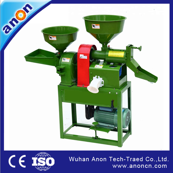 Notes for use of rice milling machine